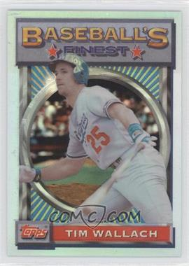 1993 Topps Finest Refractor #118 - Tim Wallach