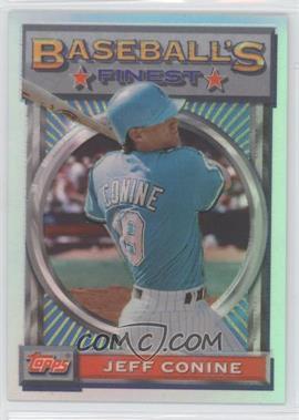 1993 Topps Finest Refractor #54 - Jeff Conine