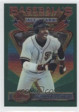 1993 Topps Finest #103 - Barry Bonds