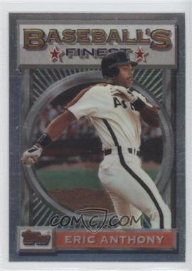1993 Topps Finest #179 - Eric Anthony