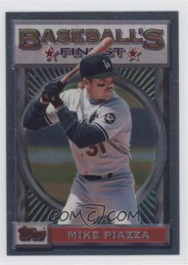1993 Topps Finest #199 - Mike Piazza