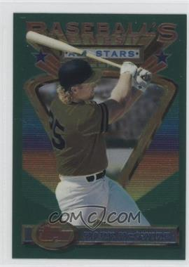 1993 Topps Finest #92 - Mark McGwire