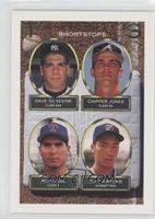 Dave Silvestri, Jeff Parrett, Chipper Jones, Jeff Patzke