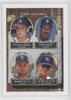 Ryan Klesko, Bull Smith, Ivan Cruz, Larry Sutton, Bubba Smith