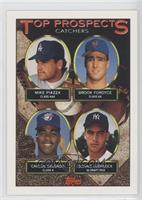 Jose Uribe, Mike Piazza, Brook Fordyce, Carlos Delgado, Donnie Leshnock, Don Le…