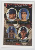 Mike Piazza, Brook Fordyce, Carlos Delgado, Donnie Leshnock