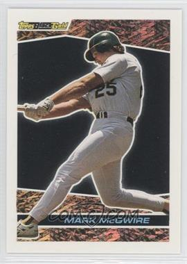 1993 Topps Prizes Black Gold #39 - Mark McGwire