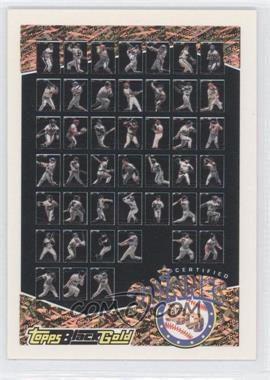 1993 Topps Prizes Black Gold #ABCD - Winner ABCD