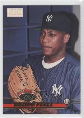 1993 Topps Stadium Club - [Base] - 1st Day Issue #465 - Melido Perez