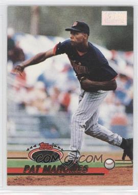 1993 Topps Stadium Club - [Base] - 1st Day Issue #740 - Pat Mahomes