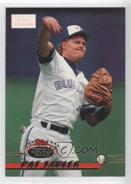1993 Topps Stadium Club 1st Day Issue #160 - Pat Tabler