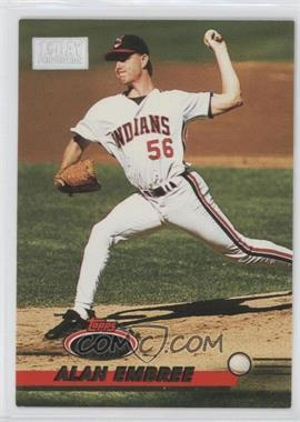 1993 Topps Stadium Club 1st Day Issue #379 - Alan Embree