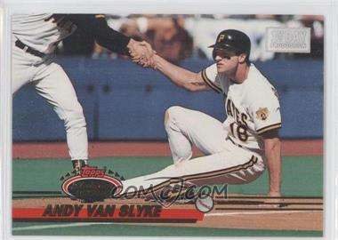 1993 Topps Stadium Club 1st Day Issue #394 - Andy Van Slyke