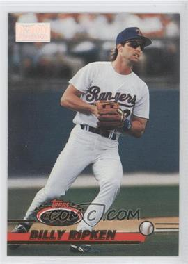 1993 Topps Stadium Club 1st Day Issue #603 - Billy Ripken