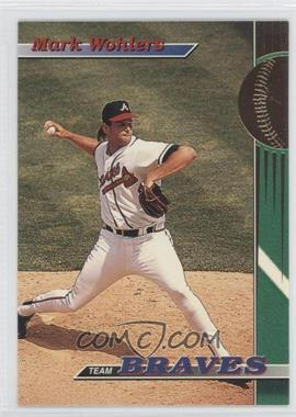 1993 Topps Stadium Club Teams - Atlanta Braves #25 - Mark Wohlers