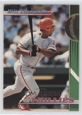 1993 Topps Stadium Club Teams - Philadelphia Phillies #28 - Milt Thompson