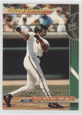 1993 Topps Stadium Club Teams - San Francisco Giants #1 - Barry Bonds