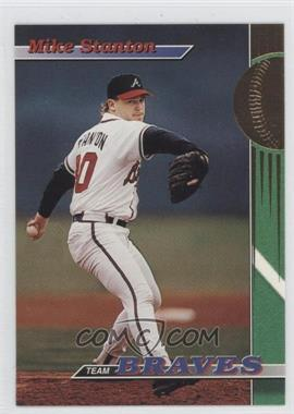 1993 Topps Stadium Club Teams Atlanta Braves #17 - Mike Stanton