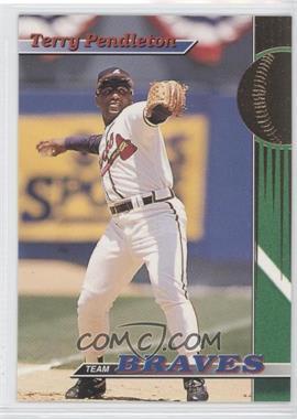 1993 Topps Stadium Club Teams Atlanta Braves #21 - Terry Pendleton