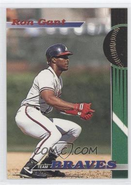 1993 Topps Stadium Club Teams Atlanta Braves #6 - Ron Gant