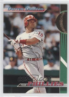 1993 Topps Stadium Club Teams Philadelphia Phillies #1 - Darren Daulton