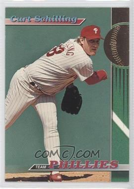 1993 Topps Stadium Club Teams Philadelphia Phillies #14 - Curt Schilling