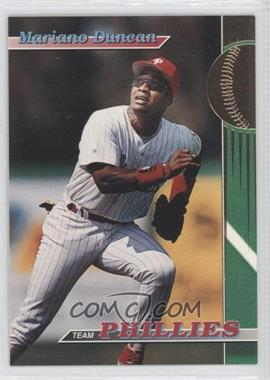 1993 Topps Stadium Club Teams Philadelphia Phillies #21 - Mariano Duncan