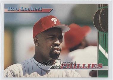 1993 Topps Stadium Club Teams Philadelphia Phillies #26 - Ron Lockett