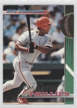 1993 Topps Stadium Club Teams Philadelphia Phillies #28 - Milt Thompson