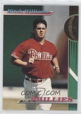 1993 Topps Stadium Club Teams Philadelphia Phillies #29 - Mitch Williams