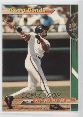 1993 Topps Stadium Club Teams San Francisco Giants #1 - Barry Bonds