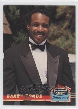 1993 Topps Stadium Club Ultra-Pro - Box Topper [Base] #10 - Barry Bonds /150000