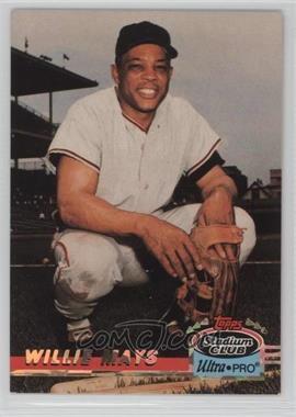 1993 Topps Stadium Club Ultra-Pro - Box Topper [Base] #6 - Willie Mays /150000