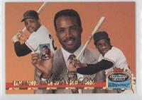 Willie Mays, Barry Bonds /150000