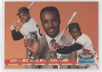 Willie Mays, Barry Bonds /150000