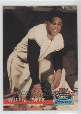 1993 Topps Stadium Club Ultra-Pro Box Topper [Base] #2 - Willie Mays /150000