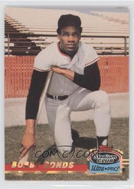 1993 Topps Stadium Club Ultra-Pro Box Topper [Base] #3 - Bobby Bonilla /150000