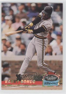 1993 Topps Stadium Club Ultra-Pro Box Topper [Base] #4 - Barry Bonds /150000