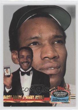 1993 Topps Stadium Club Ultra-Pro Box Topper [Base] #5 - Barry Bonds, Bobby Bonds /150000