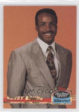 1993 Topps Stadium Club Ultra-Pro Box Topper [Base] #7 - Barry Bonds