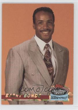 1993 Topps Stadium Club Ultra-Pro Box Topper [Base] #7 - Barry Bonds /150000