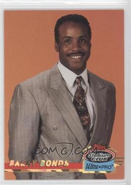 1993 Topps Stadium Club Ultra-Pro Box Topper [Base] #7 - Barry Bonds