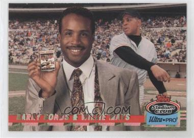 1993 Topps Stadium Club Ultra-Pro Box Topper [Base] #8 - Barry Bonds, Willie Mays /150000