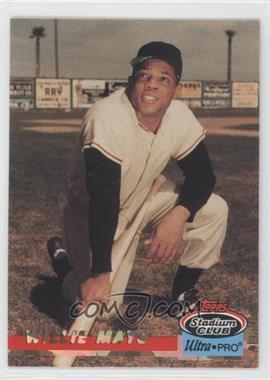 1993 Topps Stadium Club Ultra-Pro Box Topper [Base] #9 - Willie Mays /150000
