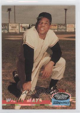 1993 Topps Stadium Club Ultra-Pro Box Topper [Base] #9 - Willie Mays /150000