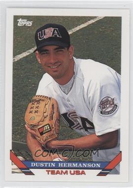 1993 Topps Traded - [Base] #22T - Dustin Hermanson