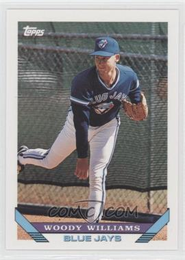 1993 Topps Traded #118T - Woody Williams