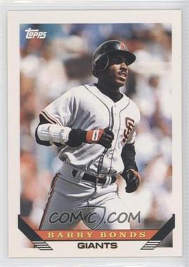 1993 Topps Traded #1T - Barry Bonds