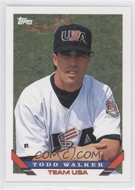 1993 Topps Traded #79T - Todd Walker
