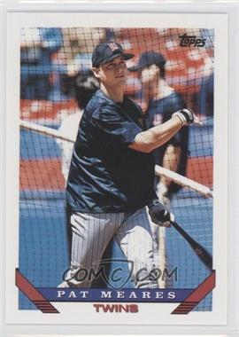 1993 Topps Traded #98T - Pat Meares